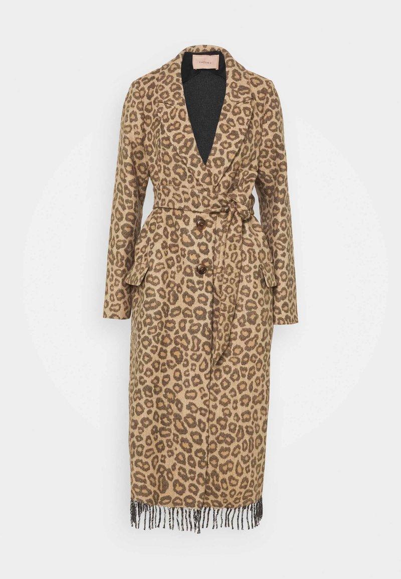 TWINSET - Classic coat - noce/tabacco