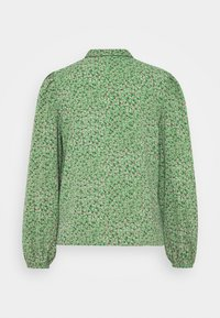 JDY - JDYPIPER - Button-down blouse - basil/peachskin - 1