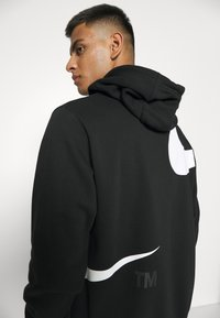Nike Sportswear - HOODIE - Sudadera - black/(white) - 4
