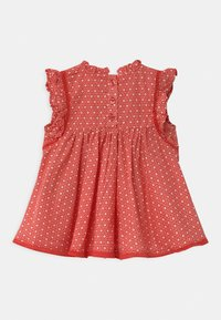 Cotton On - FLUTTER SLEEVE  - Day dress - red orange/vanilla polly - 1