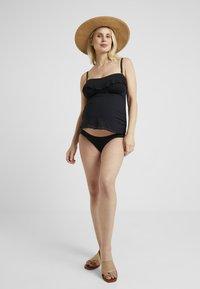 Cache Coeur - BLOOM SET - Bikini - black - 1