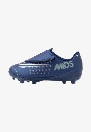 MERCURIAL VAPOR 13 CLUB MG - Chaussures de foot multicrampons - blue void/metallic silver