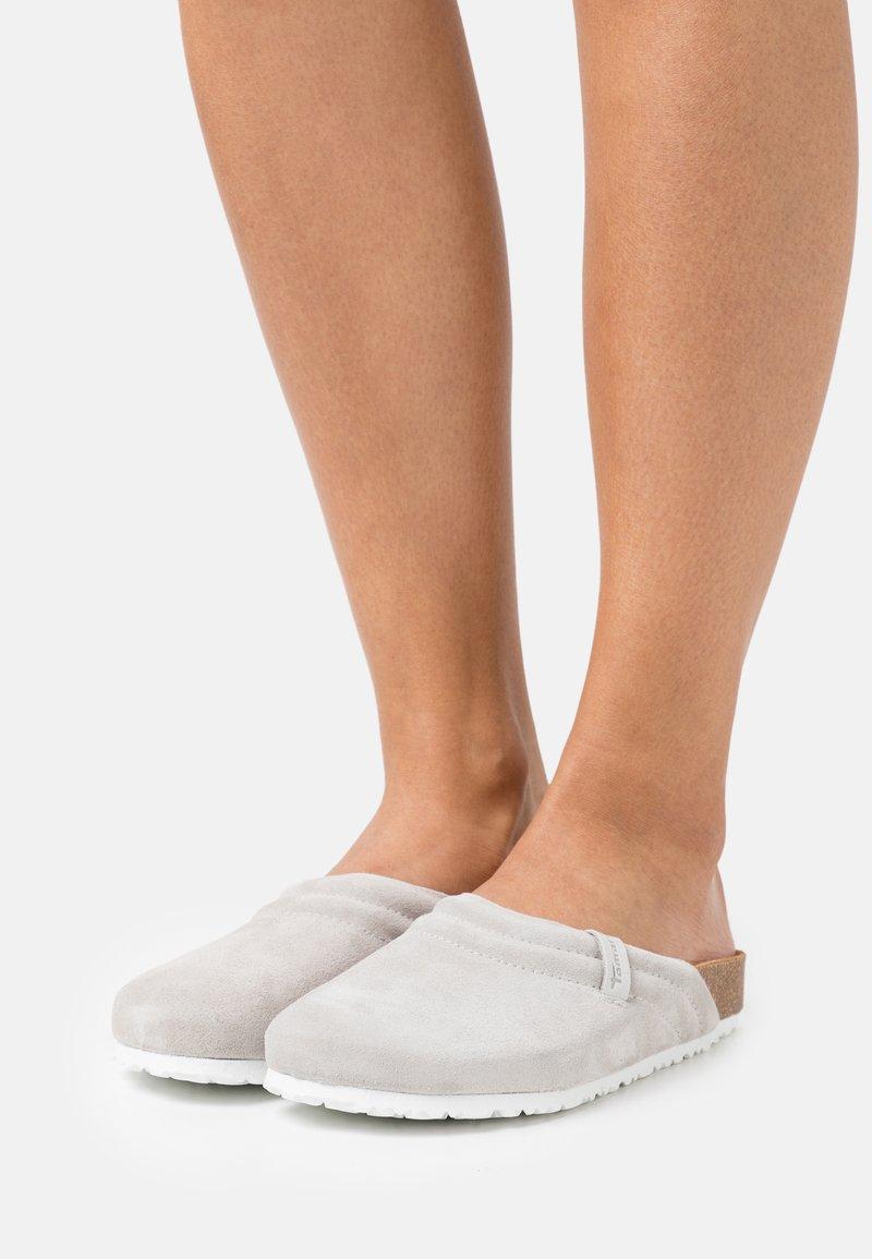 Tamaris - Mules - light grey