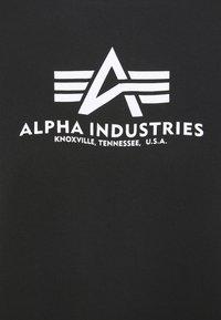 Alpha Industries - BASIC - Print T-shirt - black - 6