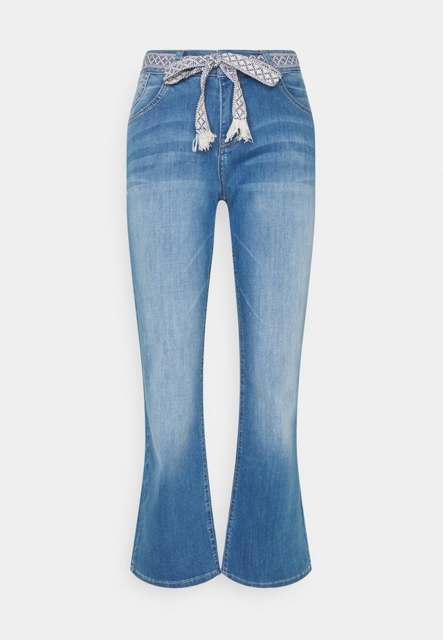 COCO  - Flared Jeans - blue denim