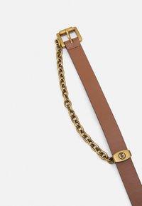 MICHAEL Michael Kors - CHAIN SWAG BELT - Belt - luggage/gold-coloured - 1