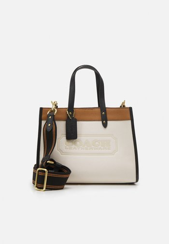 COLORBLOCK BADGE FIELD TOTE