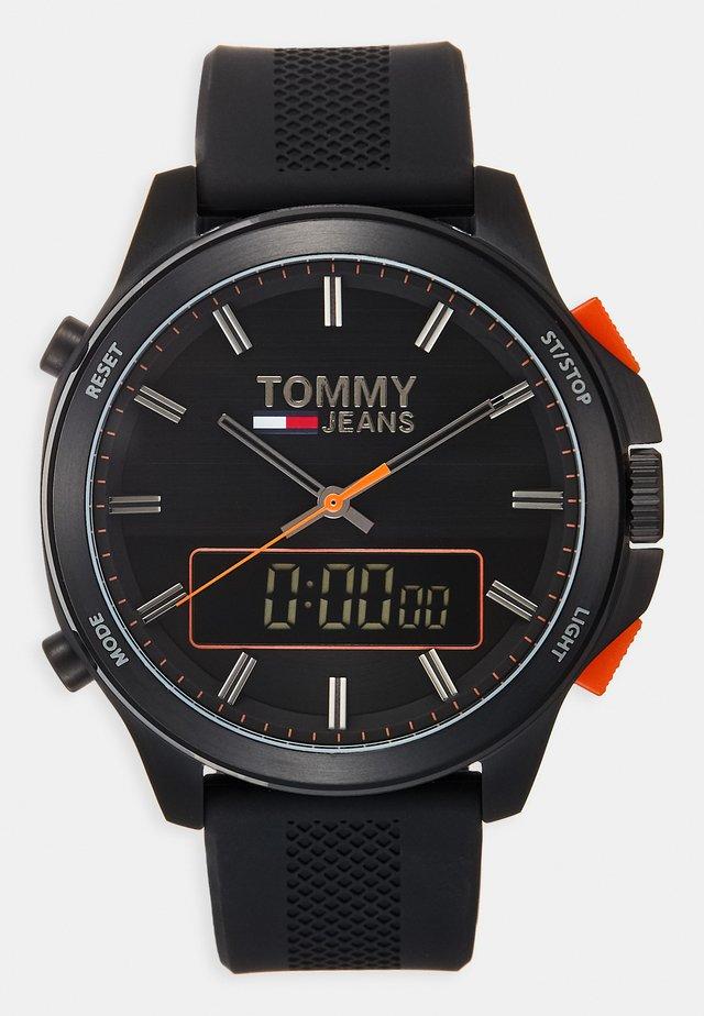 Zegarek cyfrowy - schwarz
