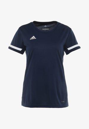 TEAM 19 - Print T-shirt - navy blue/white