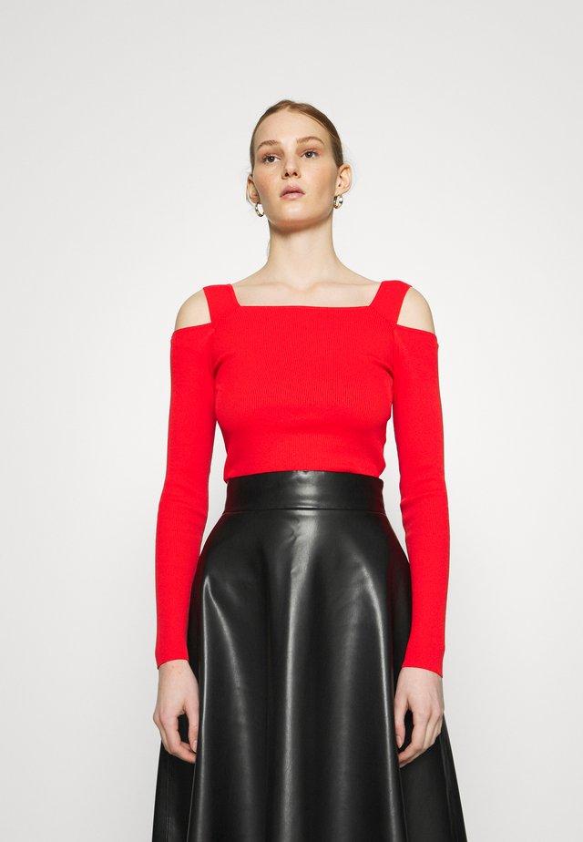 LIV - Maglietta a manica lunga - flame scarlet