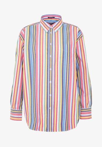 STRIPE - Button-down blouse - warm sun