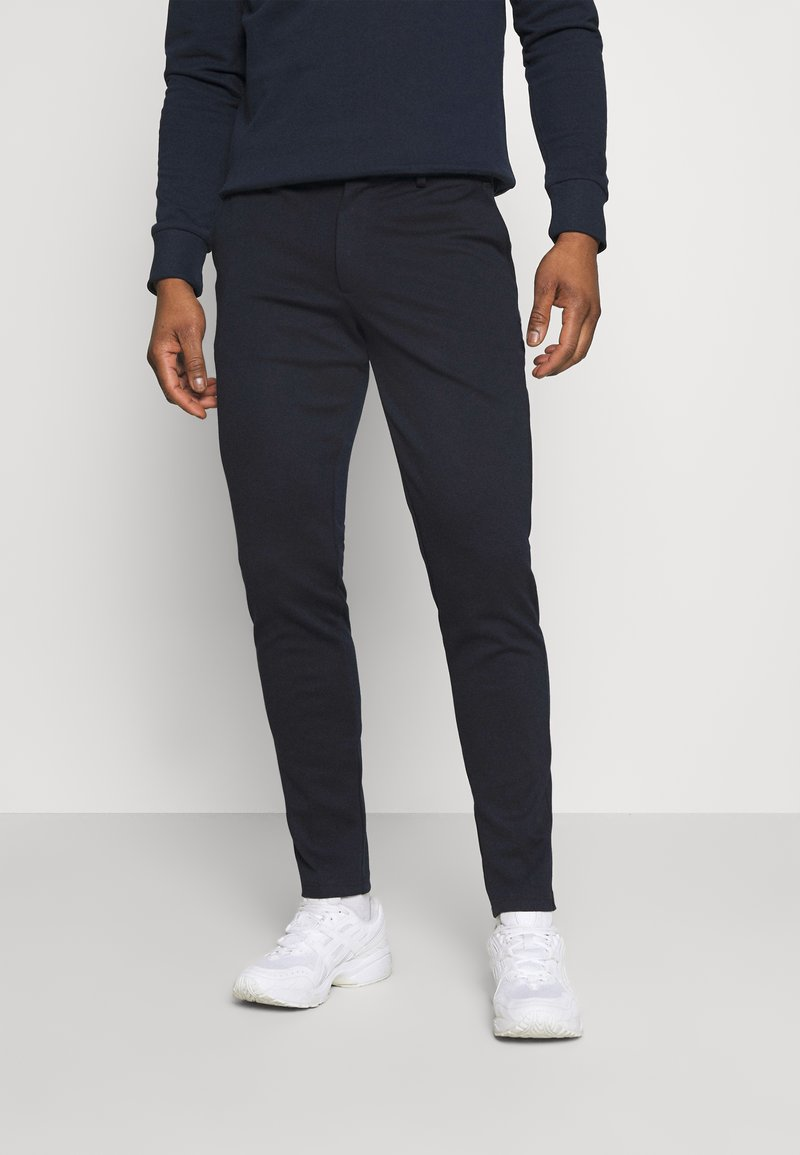 Jack & Jones - JJIMARCO JJPHIL  - Pantaloni - navy blazer