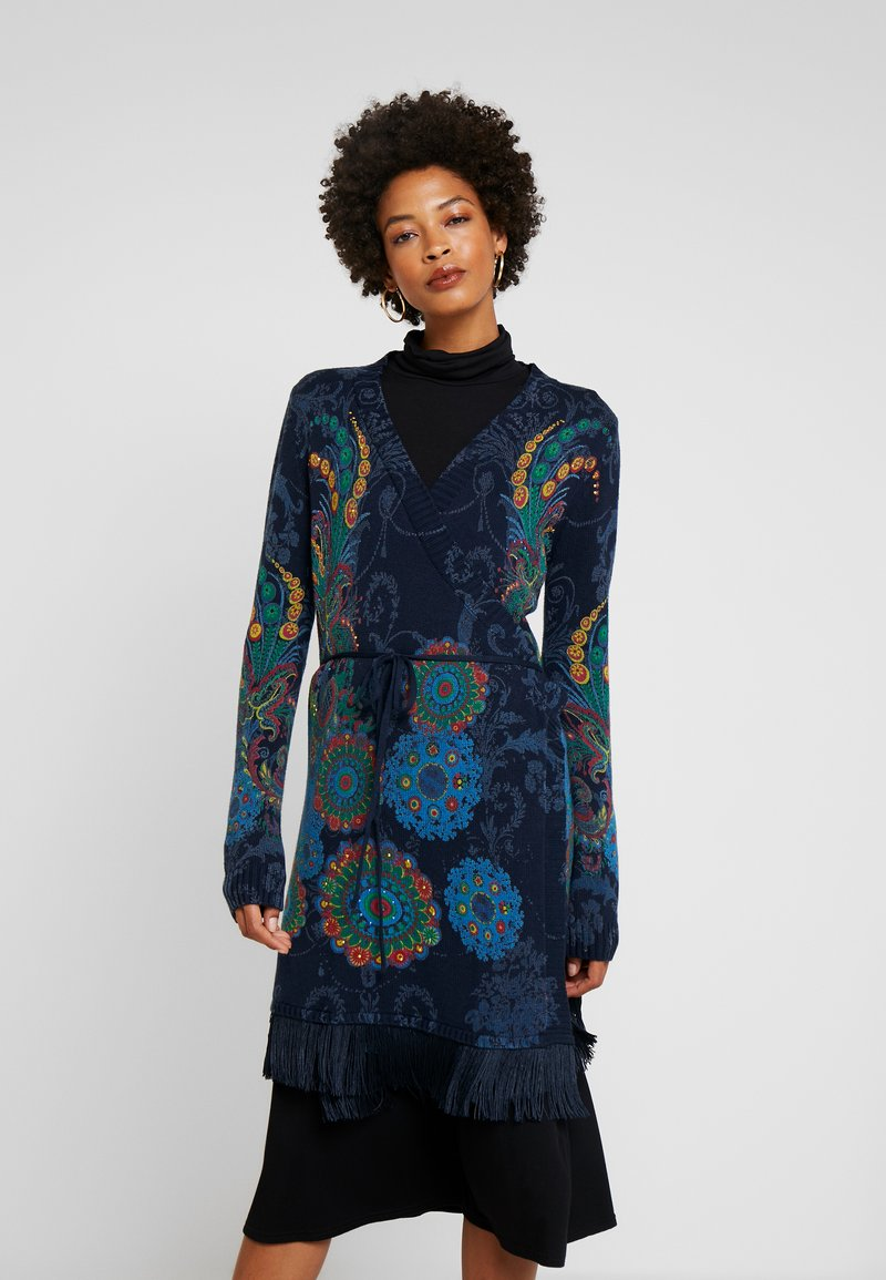 Desigual - Cardigan - dark blue