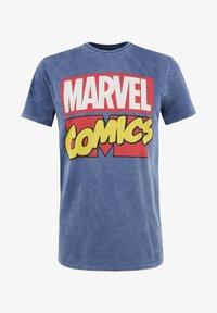Re:Covered - MARVEL COMICS - T-shirt print - blau - 1