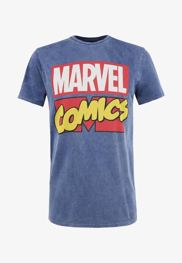 MARVEL COMICS - Printtipaita - blau