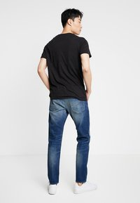 G-Star - 3301 SLIM - Slim fit jeans - joane stretch denim worker blue faded - 2