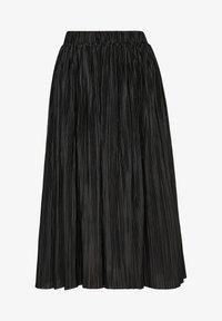 s.Oliver - Pleated skirt - black - 5