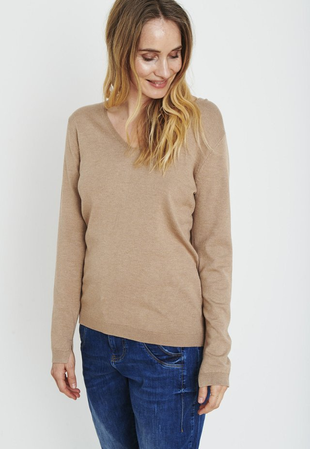 PZSARA - Pullover - tannin melange