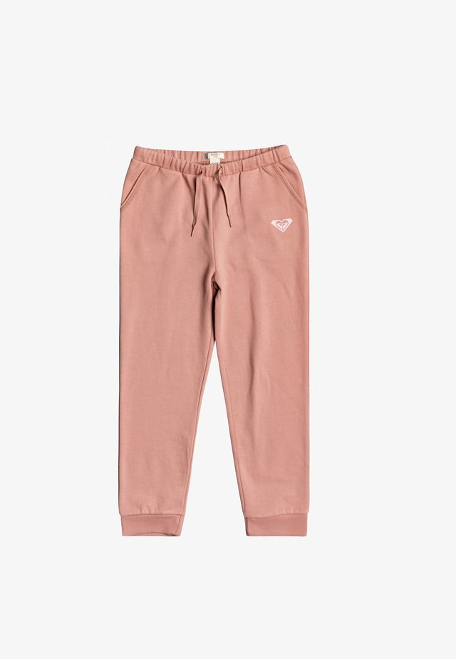 POWER DAY  - Tracksuit bottoms - ash rose