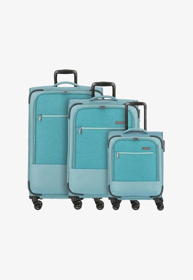 SET 3 - Luggage set - turquoise