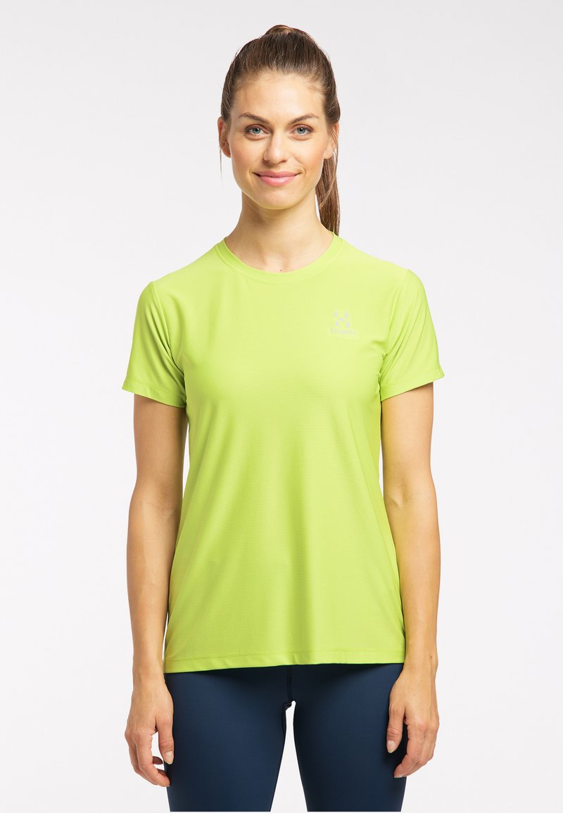 Haglöfs - Basic T-shirt - sprout green