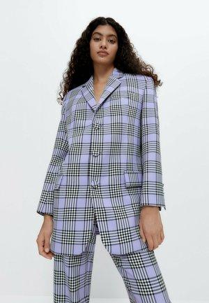 Krátký kabát - purple