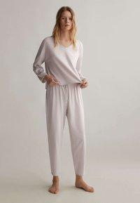OYSHO - Pyjama top - mauve - 0