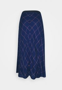 Sisley - SKIRT - Gonna a campana - royal