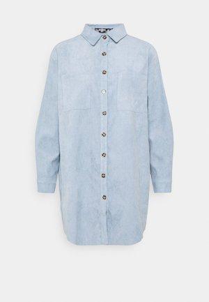 RAW HEM DRESS - Shirt dress - baby blue