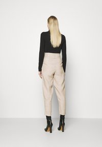 Marks & Spencer London - Trousers - beige - 2