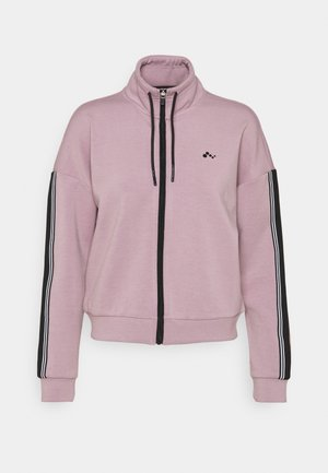 ONPMAXIE ZIP - Sudadera - elderberry/black