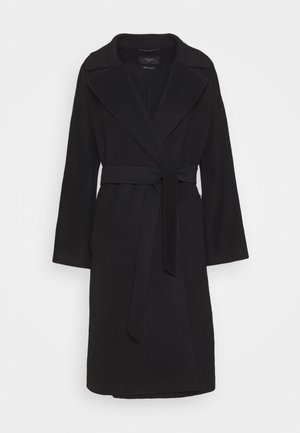 Classic coat - schwarz