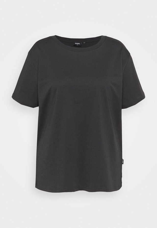 MELROSE TEE - Print T-shirt - graphite link