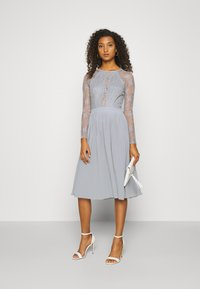 Nly by Nelly - SOMETHING ABOUT HER - Vestito elegante - grey - 1