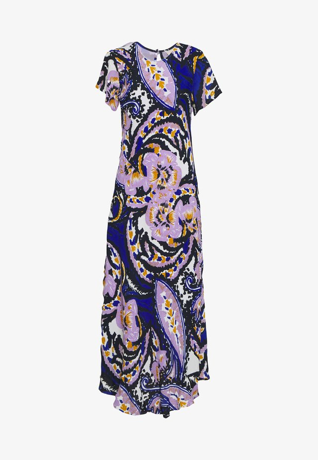 BIJOU DRESS - Robe longue - paisley blue
