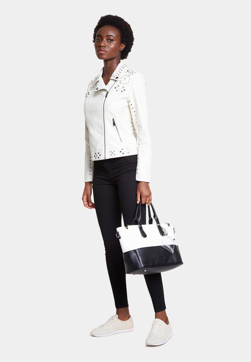Desigual - BOLS KATYA SAFI - Handbag - white