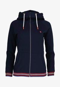 J&JOY - veste en sweat zippée - blauw - 6
