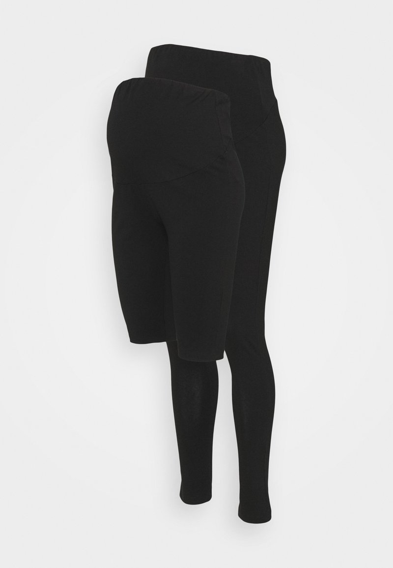 Anna Field MAMA - SET - Shortsit - black/black