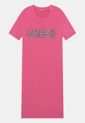 JUNIOR - Jumper dress - pop pink