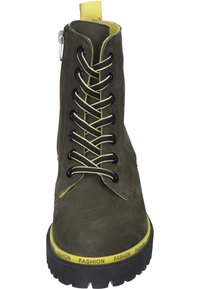 Piazza - Lace-up ankle boots - khaki - 4