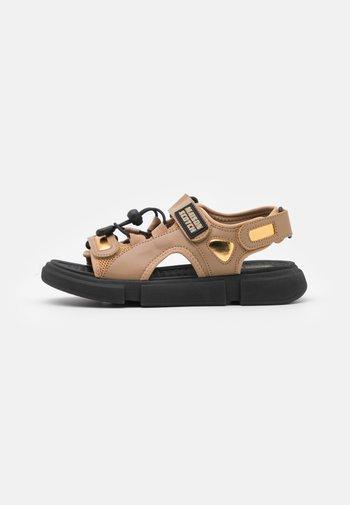 DAISIE SPORT - Walking sandals - gelb