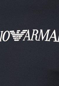 Emporio Armani - Print T-shirt - dark blue/white - 5