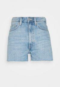 Weekday - ROWE  - Denim shorts - blue moise - 0