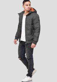 INDICODE JEANS - ADRIAN - Winter jacket - raven - 1
