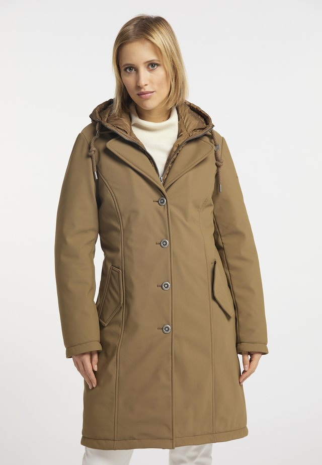 Cappotto invernale - dunkelbeige
