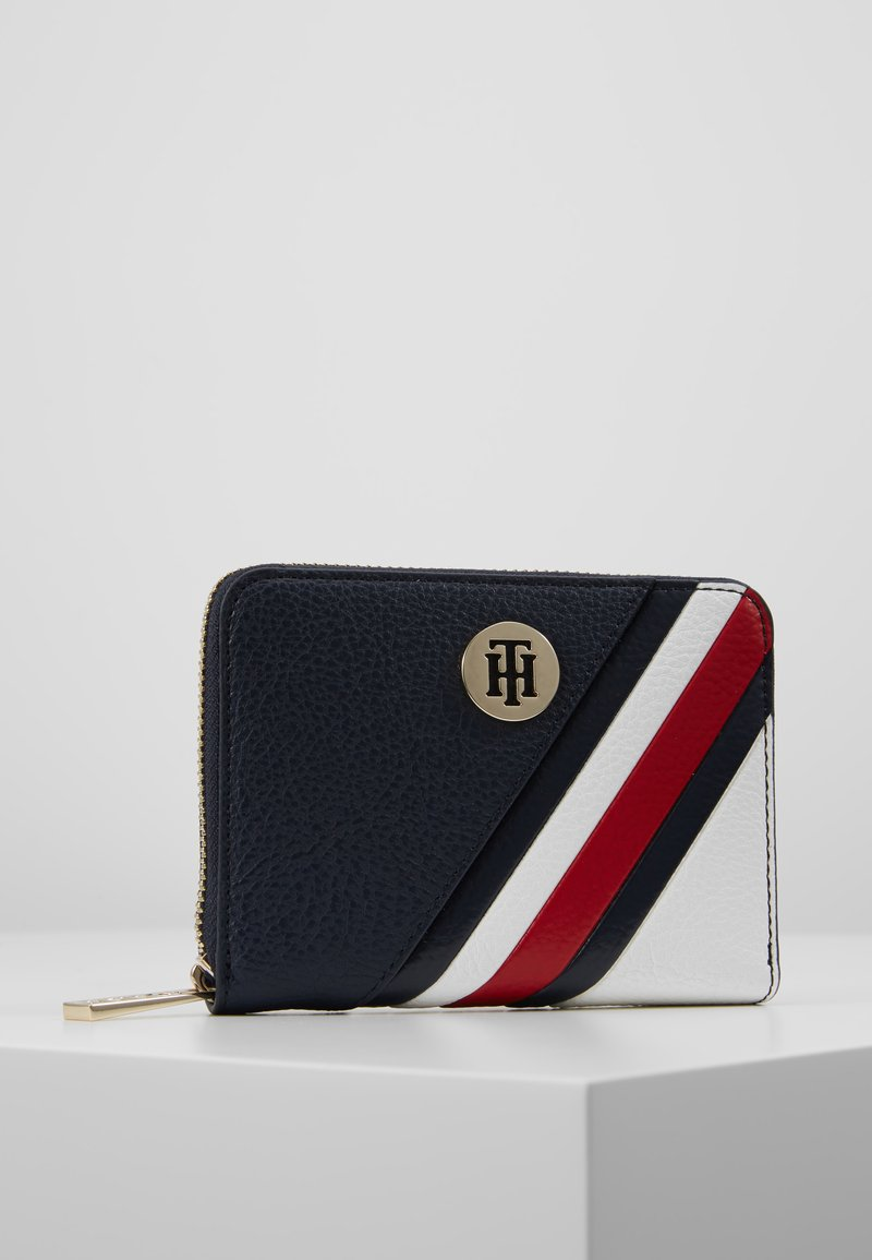Tommy Hilfiger - CORE COMPACT WALLET - Wallet - blue