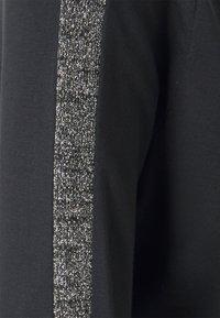 Esprit - ECOV LUREX  - Pitkähihainen paita - black - 2