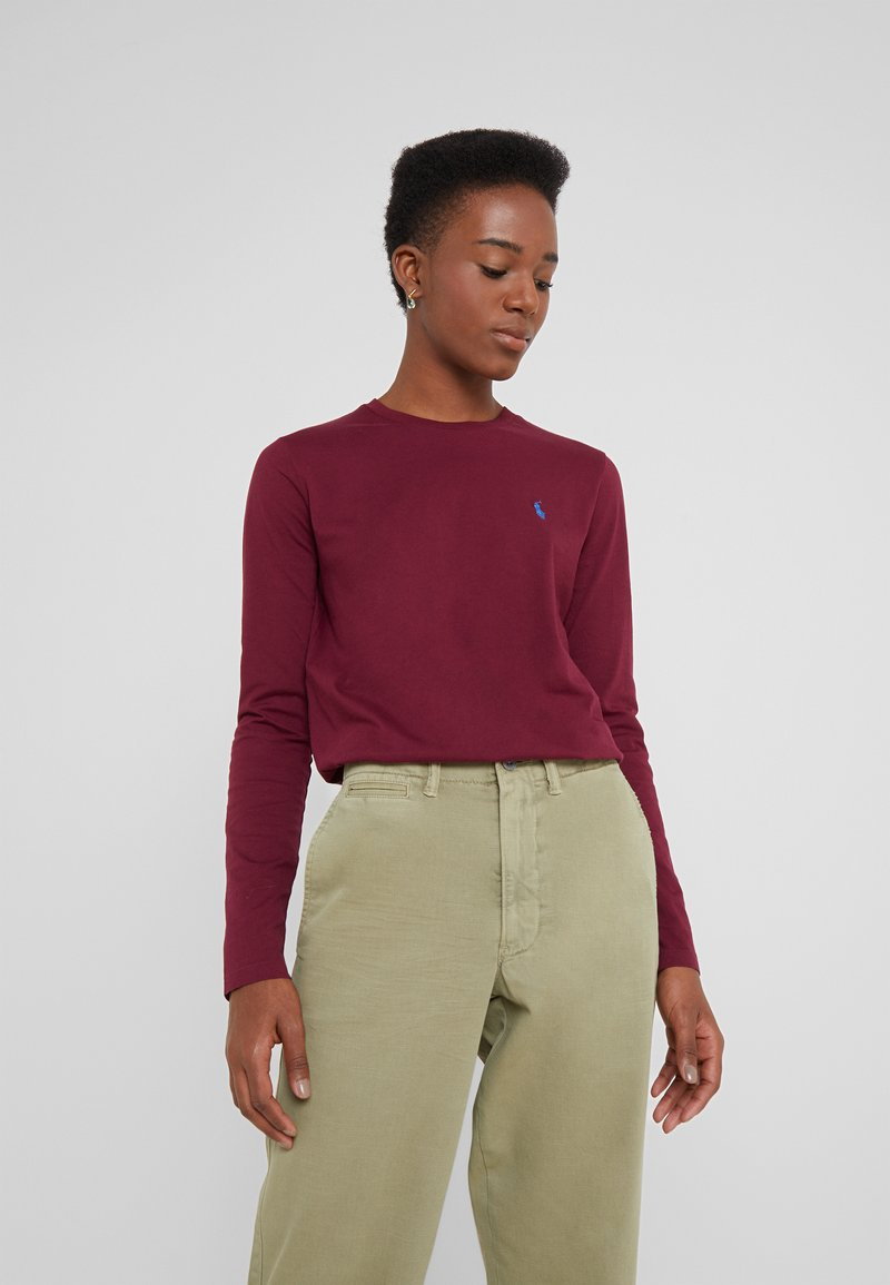 Polo Ralph Lauren - Long sleeved top - classic wine
