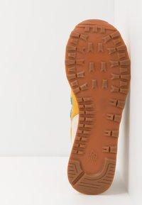 New Balance - 574 - Sneakersy niskie - blue/yellow - 4