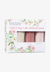 Essie - BRIDE SET I CAN'T SAY I DO WITHOUT YOU - Nail set - 05 allure/ 40 demure vix/ 06 ballet slippers - 0